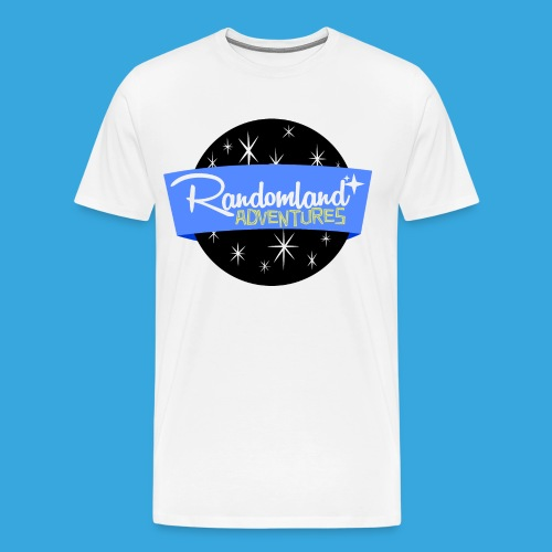 Randomland SPACE Logo - Men's Premium T-Shirt