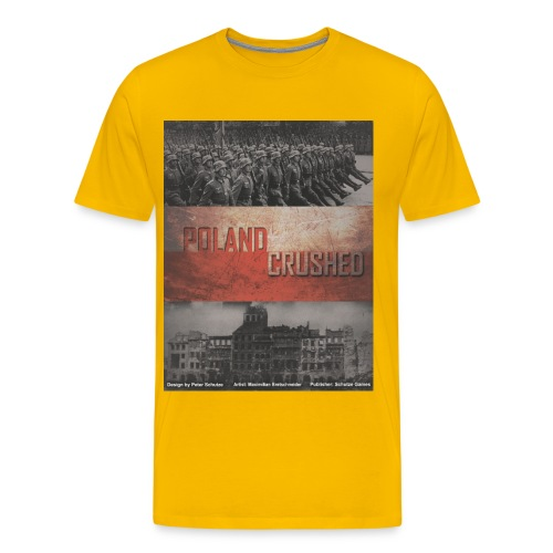 poland crushed - Men's Premium T-Shirt