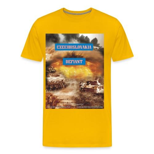 czech defiant - Men's Premium T-Shirt