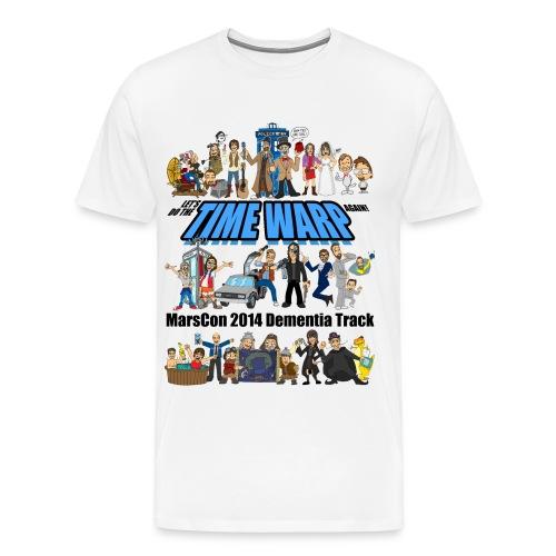 marscon 2014 dementia track tshirt - Men's Premium T-Shirt