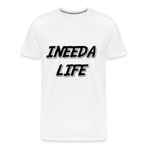 INEEDALIFE PROFILE PIC BI - Men's Premium T-Shirt