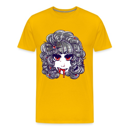 monstergirl shirt copy 1 png - Men's Premium T-Shirt