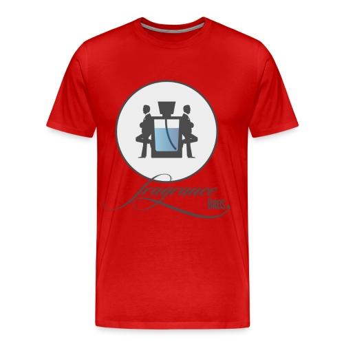 logo grey bg large png - Men's Premium T-Shirt
