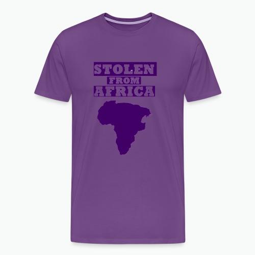 SFA LOGO DARK PURPLE - Men's Premium T-Shirt