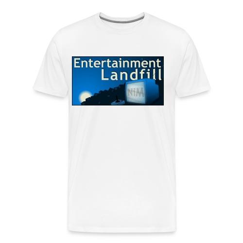 ETL Widescreen Logo - Men's Premium T-Shirt