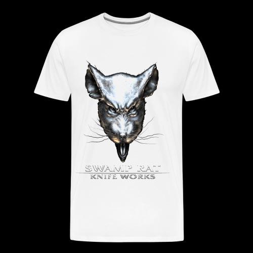 Swamp Rat Light Text - Men's Premium T-Shirt