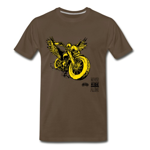 Flying Rat Yellow Edition - Men's Premium T-Shirt