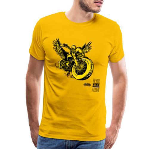 Flying Rat Yellow Edition - Men's Premium T-Shirt