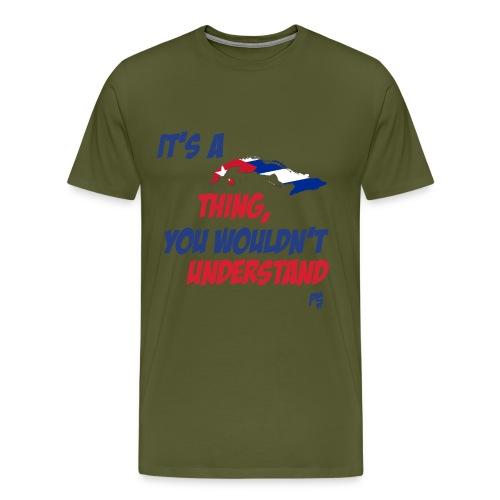 cuban thing - Men's Premium T-Shirt