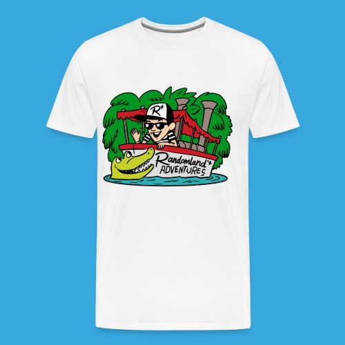 Justin of the Jungle Boat - Men's Premium T-Shirt