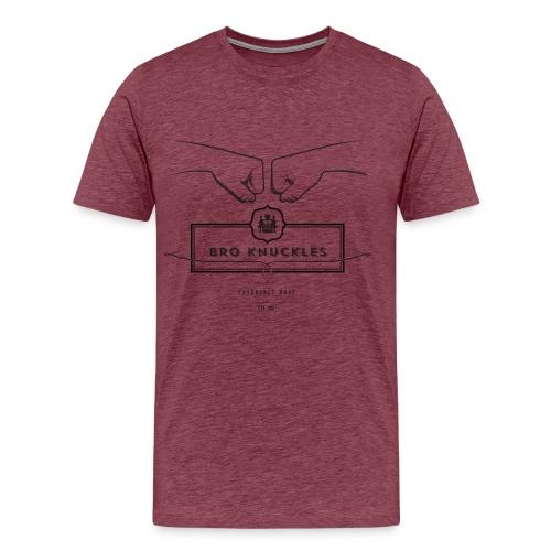 shirt final layers 07 large black png - Men's Premium T-Shirt