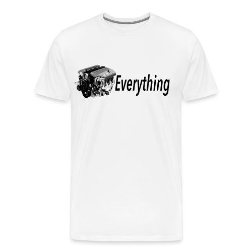 LS Everything WHITE T-shirt - Men's Premium T-Shirt