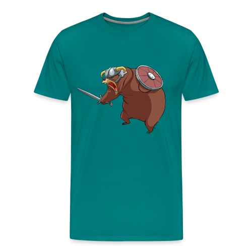 angry dovah nologo png - Men's Premium T-Shirt