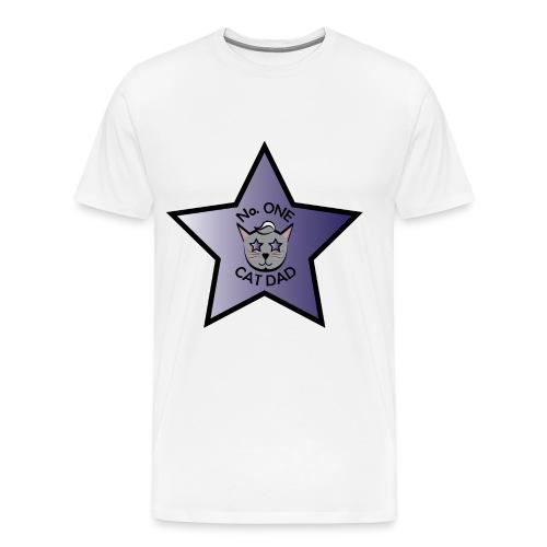 No Cat Dad - Men's Premium T-Shirt