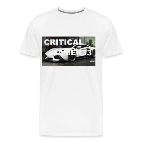 CRITIMERCH EXCLUSIVE - Men's Premium T-Shirt