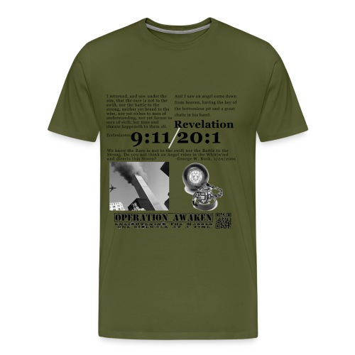 angel in the whirlwind greynobg png - Men's Premium T-Shirt