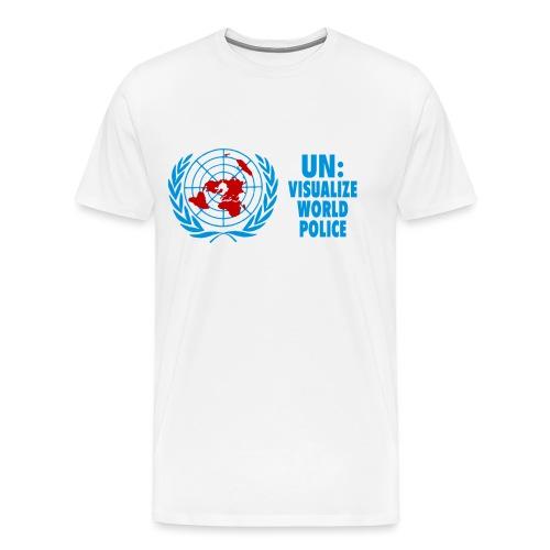 UN: Visualize World Police - Men's Premium T-Shirt