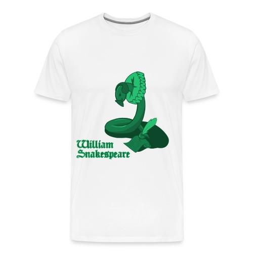 williamsnakespearegreen - Men's Premium T-Shirt
