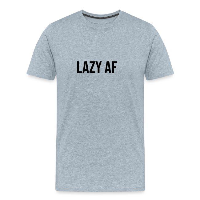 LAZY AF BLACK