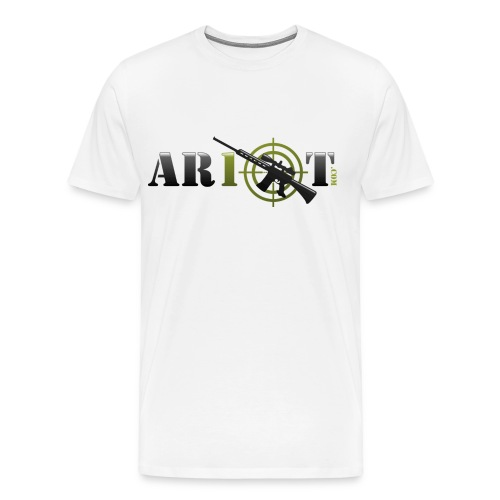 ar10tlogo - Men's Premium T-Shirt