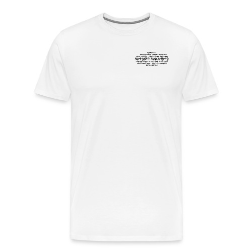 Satoshi Nakamoto Bitcoin and other inventors - Men's Premium T-Shirt