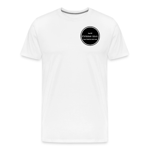 Crime Inc Small Design - Men's Premium T-Shirt