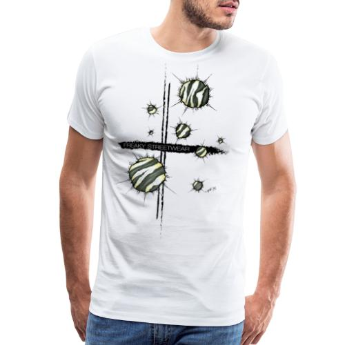 shots zebra - Men's Premium T-Shirt