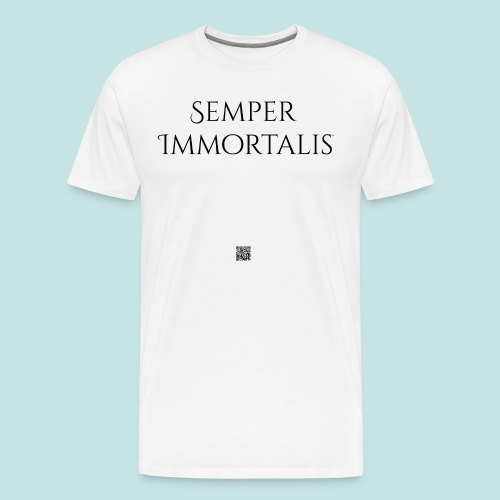 Semper Immortalis (black) - Men's Premium T-Shirt