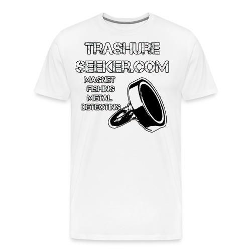 trashureseeker logo - Men's Premium T-Shirt