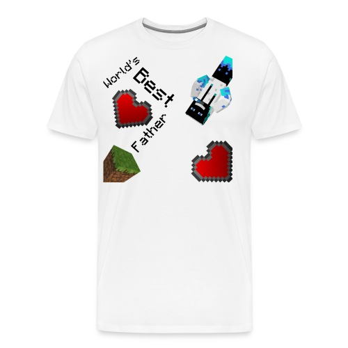 Worlds Best Father - Men's Premium T-Shirt