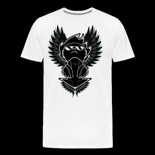 Winged Dj - Men's Premium T-Shirt