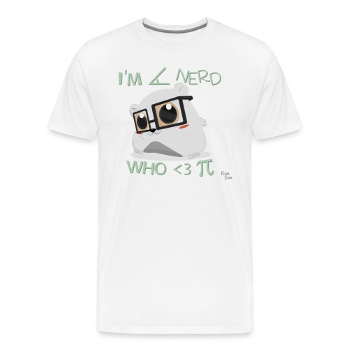 A Cute Nerd - Men's Premium T-Shirt