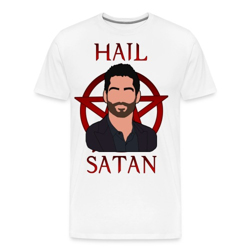 Lucifer Hail Satan - Men's Premium T-Shirt