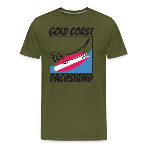 Gold Coast Dachshund - Men's Premium T-Shirt