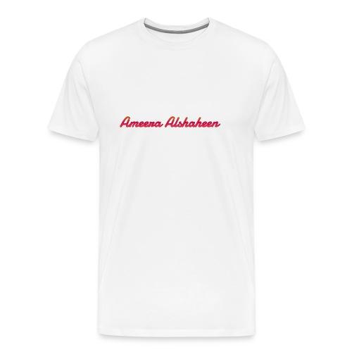 Ameera alshaheen merch - Men's Premium T-Shirt