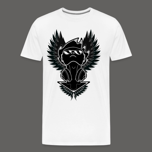 Winged Dj - Men's Premium T-Shirt