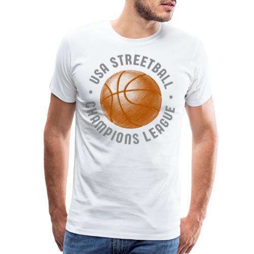 usa streetball basketball - Men's Premium T-Shirt