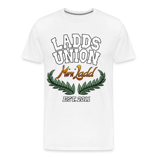 Mini Ladd College Shirt png - Men's Premium T-Shirt