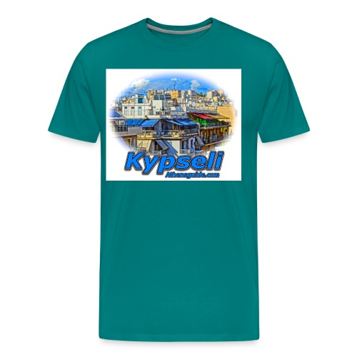 Kypseli apartments jpg - Men's Premium T-Shirt