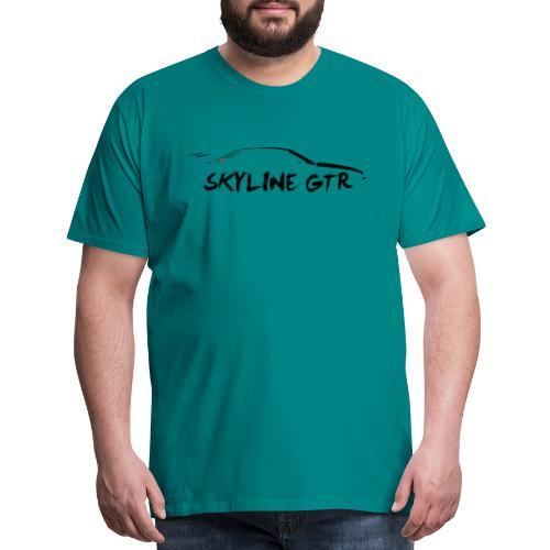 Silhouette GTR Black - Men's Premium T-Shirt