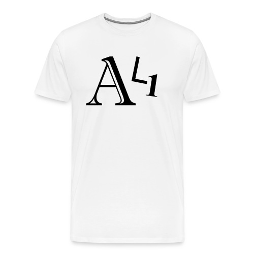 AL1 Black - Men's Premium T-Shirt