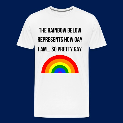 pretty gay - Men's Premium T-Shirt