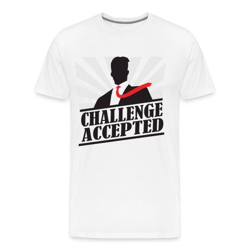 Challenge Accepted - Men's Premium T-Shirt
