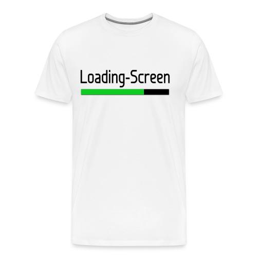 Loading Screen T Shirt png - Men's Premium T-Shirt