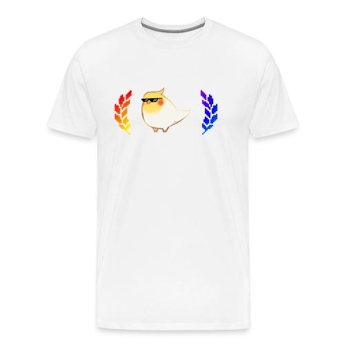 cool_birb - Men's Premium T-Shirt