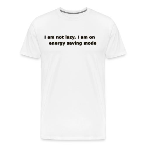 Funny Lazy T-shirt/Longsleeve - Men's Premium T-Shirt