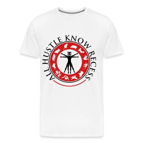 All Hustle Know Recess - Men's Premium T-Shirt