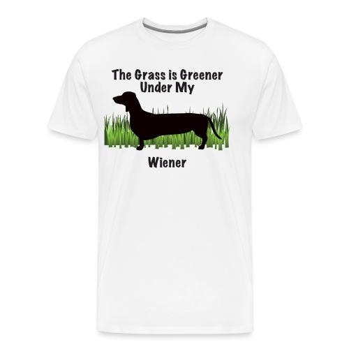 Wiener Greener Dachshund - Men's Premium T-Shirt