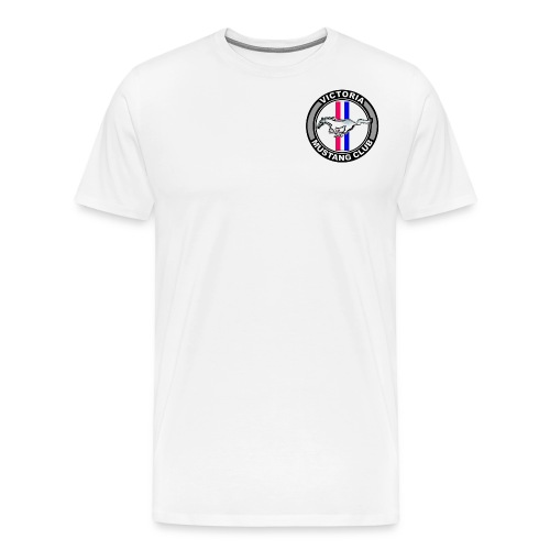 victoria mustang club logo png - Men's Premium T-Shirt