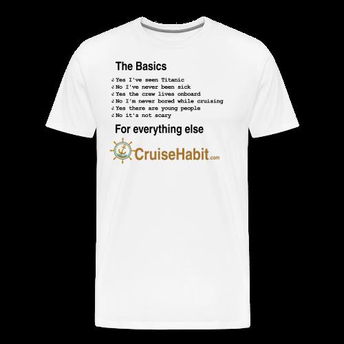 Cruising Basics - Men's Premium T-Shirt